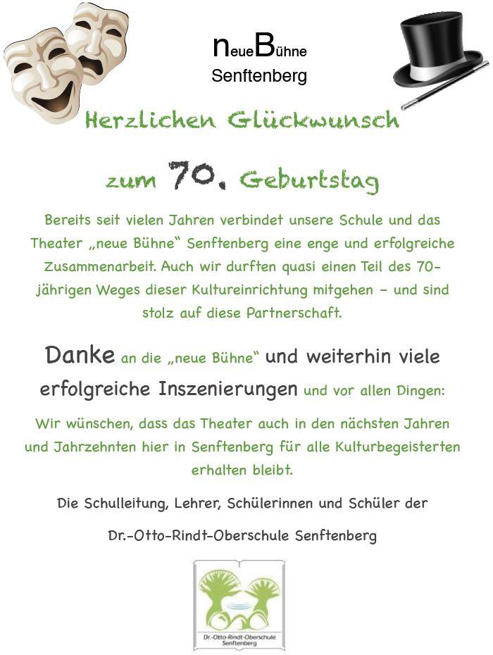 neue Bühne Senftenberg Text