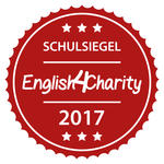 Schulsiegel English4Charity