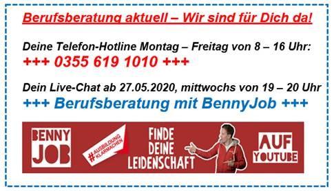 Berufsberatung Hotline